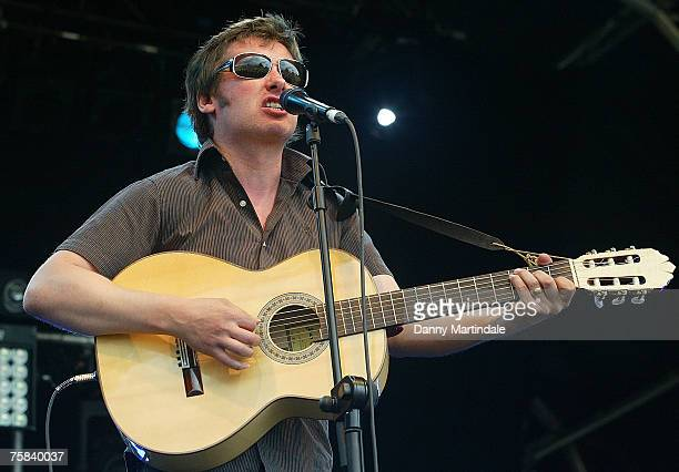 Lucky Jim perform at Ben and Jerry's Sundea on July 28 2007 in London England