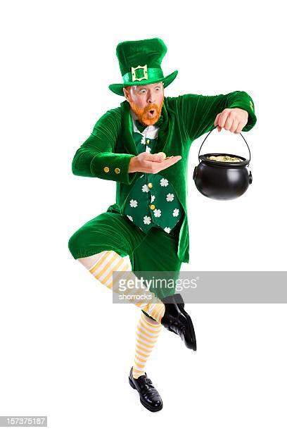 lucky leprechaun - leprechaun stock pictures, royalty-free photos & images