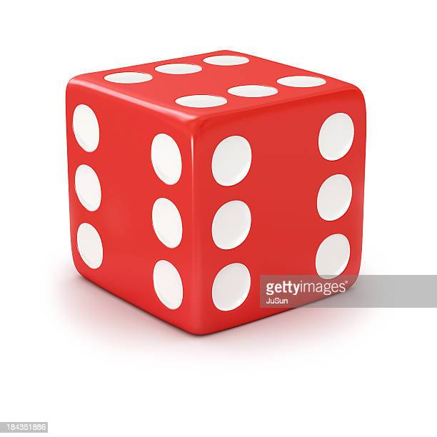 lucky red dice