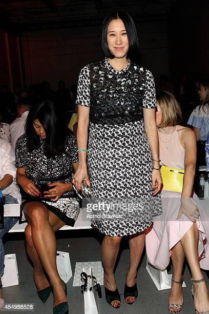 Lucky's Magazine Editor-in-Chief Eva Chen attends the 3.1 Philip Lim Spring Summer 2015 fashion show with TRESemme at Skylight Clarkson SQ. On...