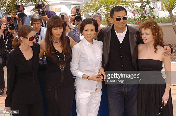 Lucracia Martel Monica Bellucci and Ziyi Zhang Wong Kar Wai and Helena Bonham Carter