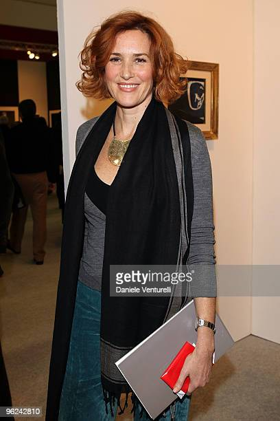 Lucrezia Lante Della Rovere attends 2010 International Art Fair Opening on January 28, 2010 in Bologna, Italy.