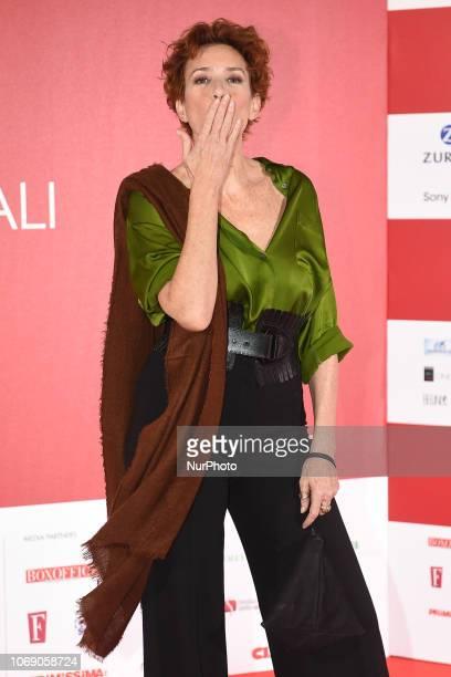 Lucrezia Lante della Rovere attends a photocall during the 41th Giornate Professionali del Cinema Sorrento Italy on 5 December 2018