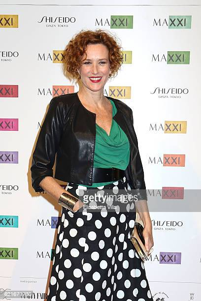 Lucrezia Lante della Rovere attends a photocall for the MAXXI Acquisition Gala Dinner 2016 at Maxxi Museum on November 7, 2016 in Rome, Italy.