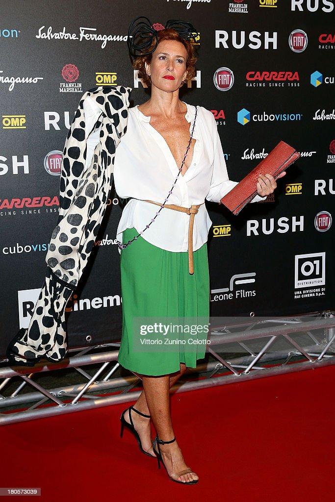 Lucrezia Lante Della Rovere attends 'Rush' The Movie Rome Premiere at Auditorium della Conciliazione on September 14, 2013 in Rome, Italy.
