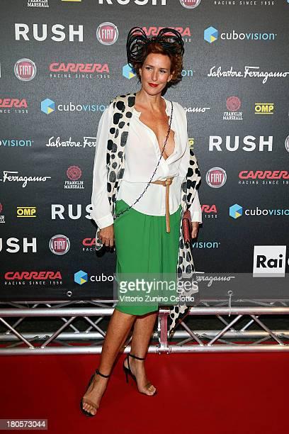 Lucrezia Lante Della Rovere attends 'Rush' The Movie Rome Premiere at Auditorium della Conciliazione on September 14 2013 in Rome Italy
