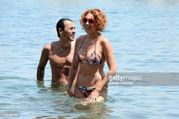 Lucrezia Lante Della Rovere attends the Day 3 of Ischia Global Fest 2013on July 15 2013 in Ischia Italy