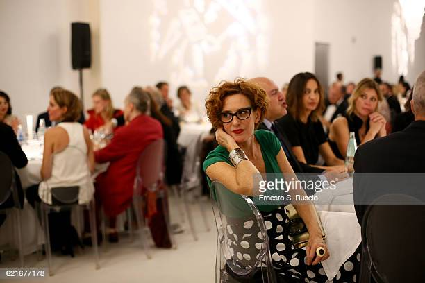 Lucrezia Lante della Rovere attends the MAXXI Acquisition Gala Dinner 2016 at Maxxi Museum on November 7 2016 in Rome Italy Exclusive Coverage