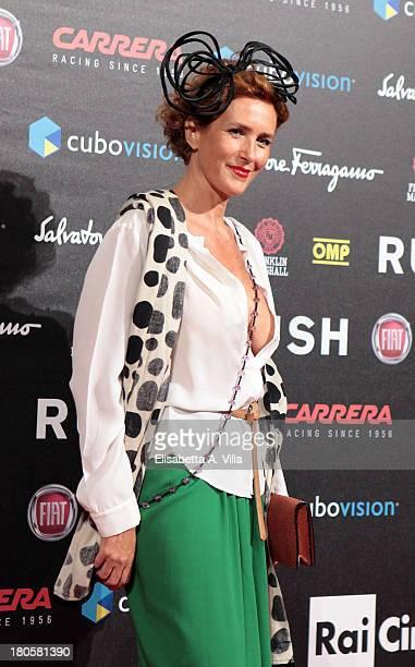 Lucrezia Lante Della Rovere attends the 'Rush' premiere at Auditorium della Conciliazione on September 14 2013 in Rome Italy