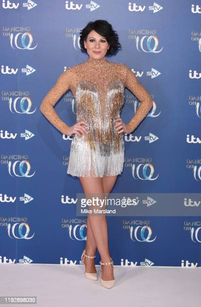 Lucrezia Millarini during the Dancing On Ice 2019 photocall at ITV Studios on December 09 2019 in London England