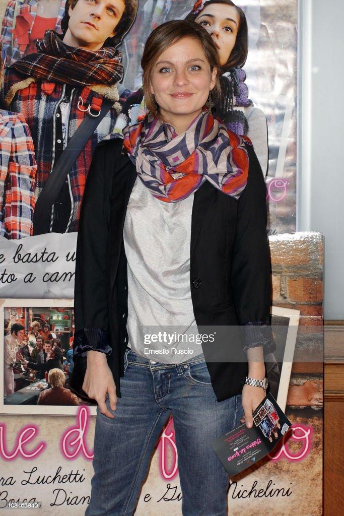 Lucrezia Piaggio attends the 'Febbre Da Fieno' premiere at Emassy Cinema on January 27, 2011 in Rome, Italy.