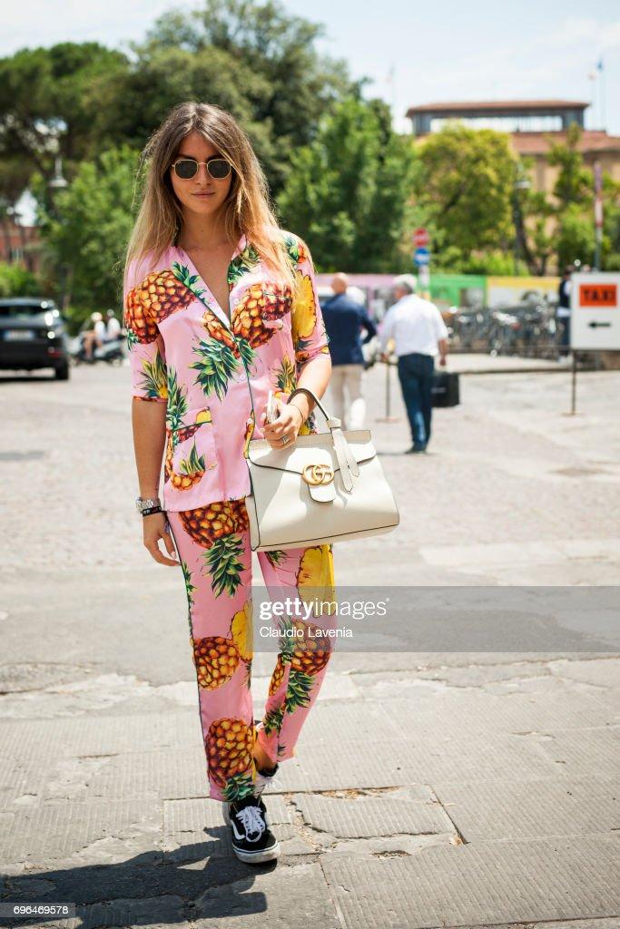Street Style: June 15 - 92. Pitti Uomo : News Photo