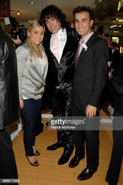 "Lucy Balan, Rodolfo Valentin and Zach Ertem attend Sofia's ""Hair for Health"" Annual Party at the Rodolfo Valentin Salon and Spa on October 11, 2009..."