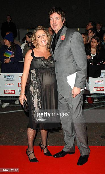 Lucy Benjamin and husband Richard Taggart attending The Daily Mirror Pride Of Britain Awards 2006, London Television Studios, London. 6th August...