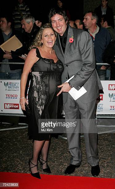 Lucy Benjamin and Richard Taggart arrive at the Daily Mirror's Pride Of Britain Awards at ITV Centre on November 6, 2006 in London, England. The...