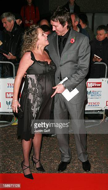 Lucy Benjamin & Richard Taggart Attend The Pride Of Britain Awards 2006 At The London Television Studios.