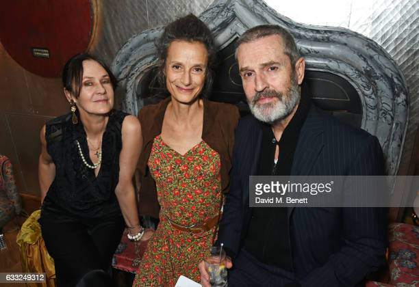 Lucy Birley Tracy Ward Marchioness of Worcester and Rupert Everett attend the Farms Not Factories #TurnYourNoseUp at Pig Factories VIP dinner...