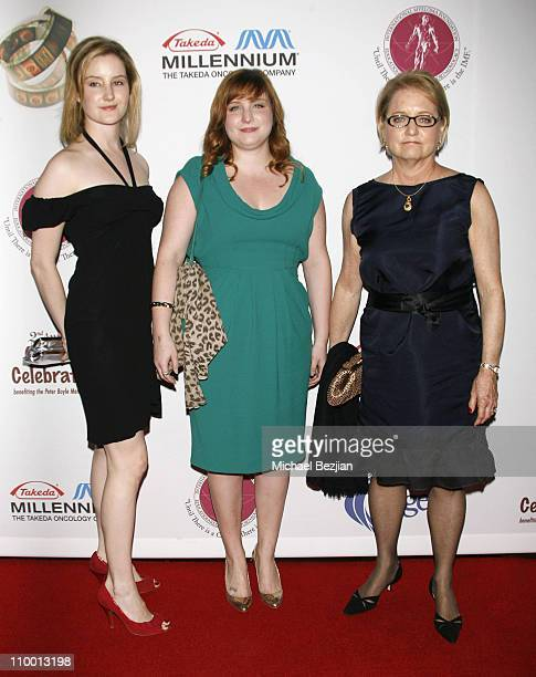 Lucy Boyle Amy Boyle and Loraine Boyle arrive at the 2nd Annual Comedy Celebration Benefiting the Peter Boyle Memorial Fund at the Wilshire Ebell...