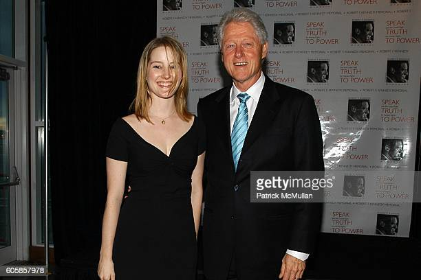 Lucy Boyle and Bill Clinton attend Special Premiere of SPEAK TRUTH TO POWER to Benefit the Kennedy Center with Former President Bill Clinton as Guest...