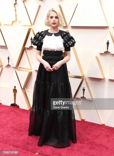 Lucy Boynton arrives at the 92nd Annual Academy Awards at Hollywood and Highland on February 09, 2020 in Hollywood, California.