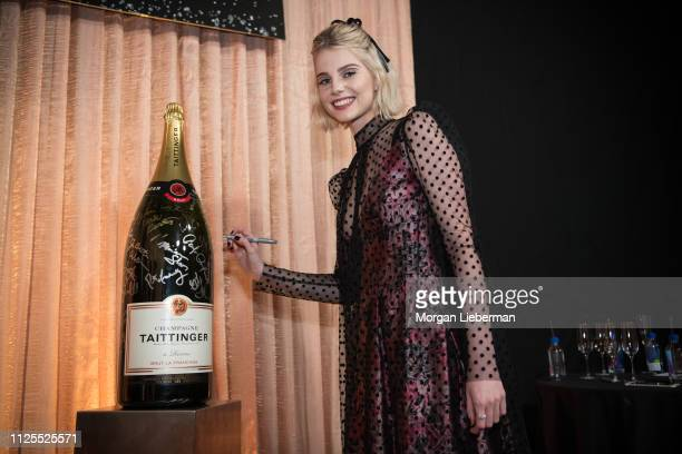 Lucy Boynton at the 25th Annual Screen Actors Guild Awards cocktail party at The Shrine Auditorium on January 27 2019 in Los Angeles California