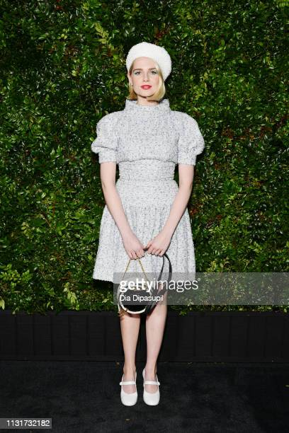 Lucy Boynton attends Chanel And Charles Finch PreOscar Awards Dinner At The Polo Lounge in Beverly Hills on February 23 2019 in Beverly Hills...