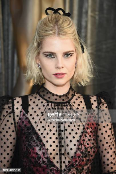 Lucy Boynton attends the 25th Annual Screen ActorsGuild Awards at The Shrine Auditorium on January 27 2019 in Los Angeles California 480595