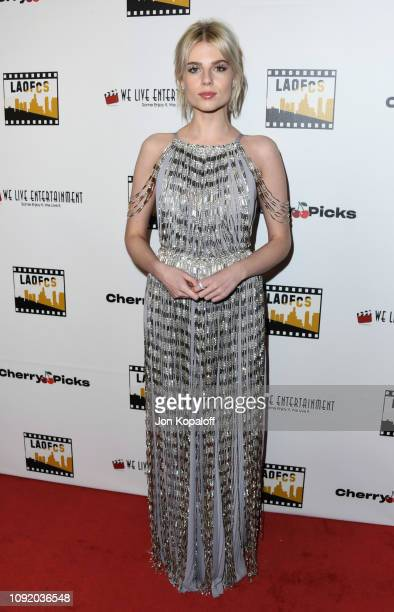 Lucy Boynton attends the 2nd Annual Los Angeles Online Film Critics Society Award Ceremony at Taglyan Cultural Complex on January 09 2019 in...
