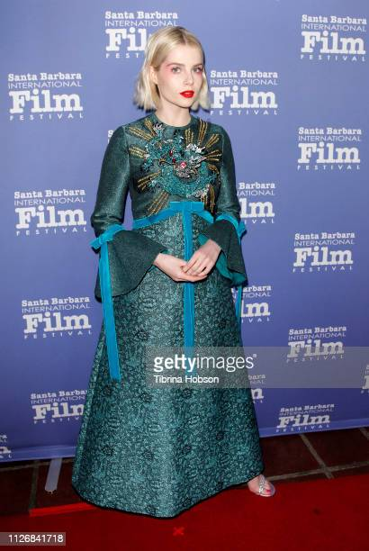 Lucy Boynton attends the 34th annual Santa Barbara International Film Festival Outstanding Performer of the Year Award ceremony at Arlington Theater...