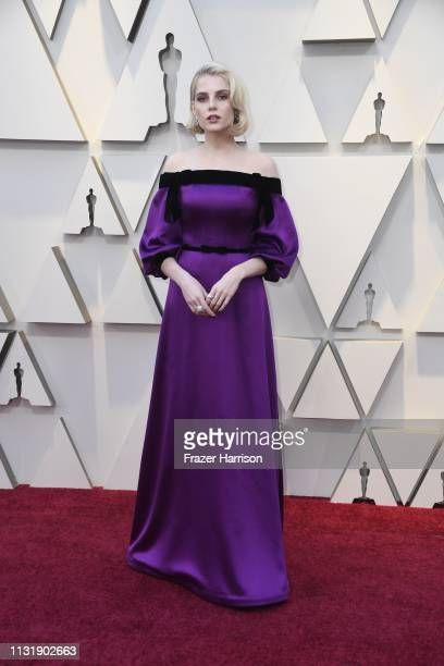 Lucy Boynton attends the 91st Annual Academy Awards at Hollywood and Highland on February 24 2019 in Hollywood California