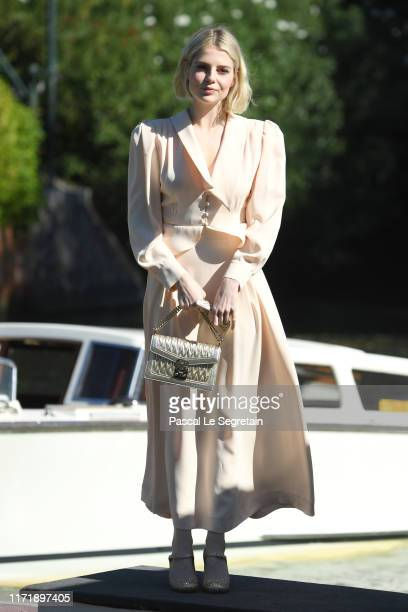 Lucy Boynton is seen arriving at the 76th Venice Film Festival on September 03 2019 in Venice Italy