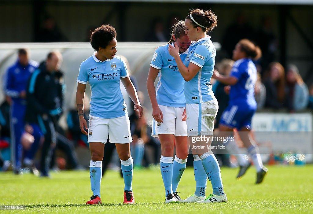 Chelsea Ladies FC v Manchester City Women - SSE Women's FA Cup Semi-final