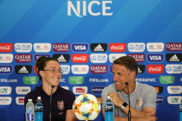 FRA: England Press Conference - 2019 FIFA Women's World Cup France