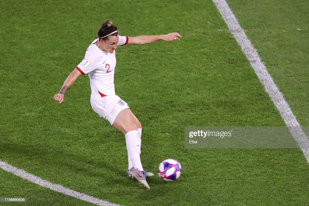 Norway v England: Quarter Final  - 2019 FIFA Women's World Cup France : Photo d'actualité