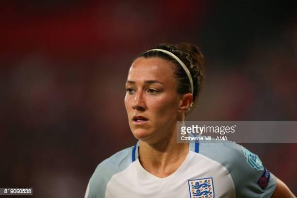 Lucy Bronze of England Women during the UEFA Women's Euro 2017 match between England and Scotland at Stadion Galgenwaard on July 19 2017 in Utrecht...