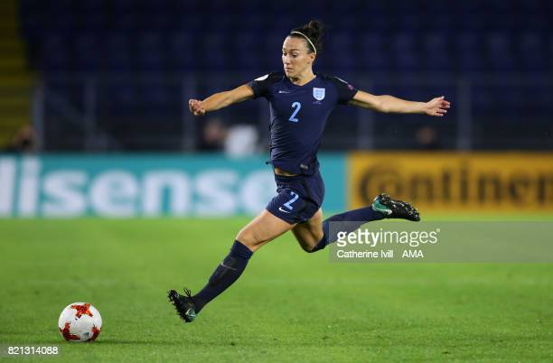 Lucy Bronze of England Women during the UEFA Women's Euro 2017 match between England and Spain at Rat Verlegh Stadion on July 23 2017 in Breda...