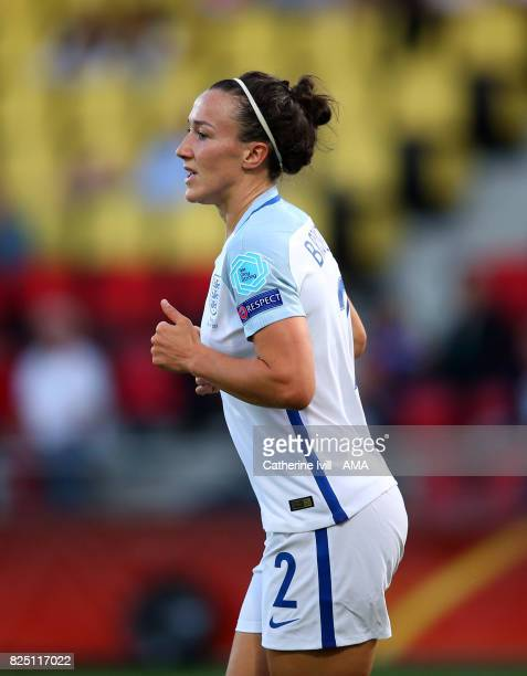 Lucy Bronze of England Women during the UEFA Women's Euro 2017 match between England and France at Stadion De Adelaarshorst on July 30 2017 in...