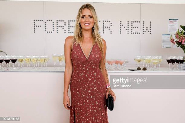 Lucy Brownless attends Portsea Polo on January 13 2018 in Melbourne Australia
