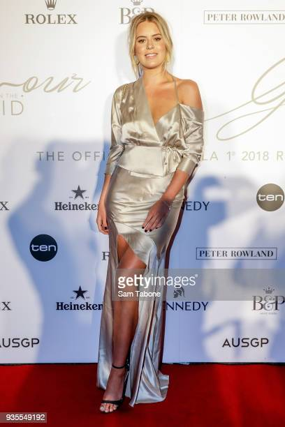 Lucy Brownless attends the Glamour on The Grid Party at Albert Park on March 21 2018 in Melbourne Australia
