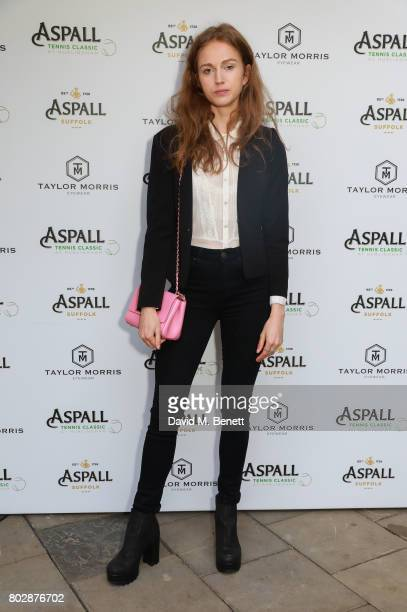 Lucy Chapel attends the Taylor Morris Eyewear x Aspall Tennis Classic Player's Party at Bluebird Chelsea on June 28 2017 in London England