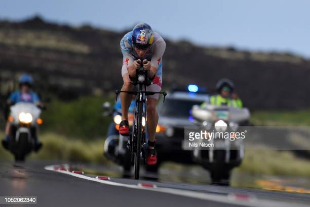 Lucy Charles competes during the IRONMAN World Championships brought to you by Amazon on October 13 2018 in Kailua Kona Hawaii