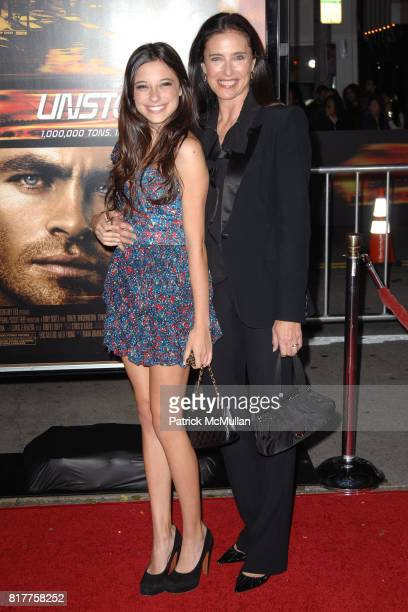 Lucy Ciaffa and Mimi Rogers attend UNSTOPPABLE World Premiere at Regency Village Theatre on October 26 2010 in Westwood California