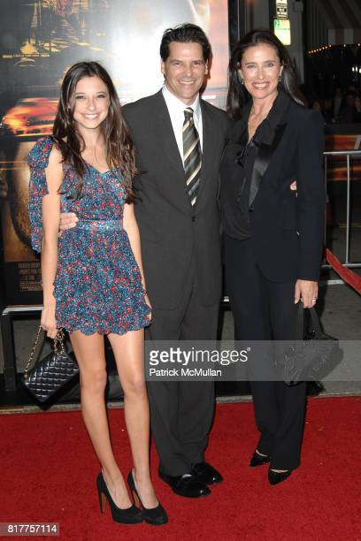 Lucy Ciaffa Chris Ciaffa and Mimi Rogers attend UNSTOPPABLE World Premiere at Regency Village Theatre on October 26 2010 in Westwood California
