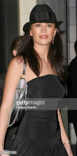 Lucy Clarkson during Stars Party with Justin Timberlake at Rex Cinema London in London Great Britain