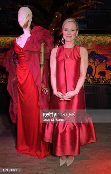 Lucy Cleland attends the 'Country Town House Great British Brands' party at Annabel's on January 27 2020 in London England