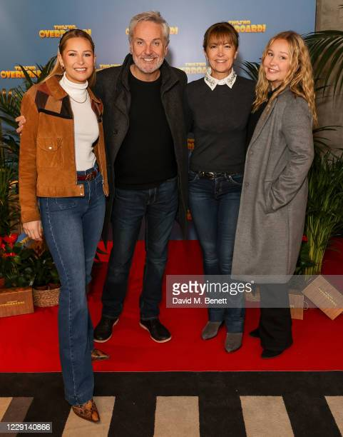 """Lucy Conley, Brian Conley, Anne-Marie Conley and Amy Conley attend a VIP screening of """"TWO BY TWO: Overboard!"""" at The Everyman Cinema Chelsea on..."""