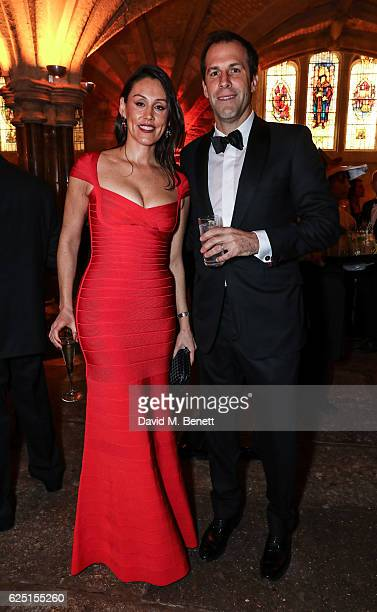 Lucy Connor and Greg Rusedski attend the Save The Children Winter Gala at The Guildhall on November 22 2016 in London England