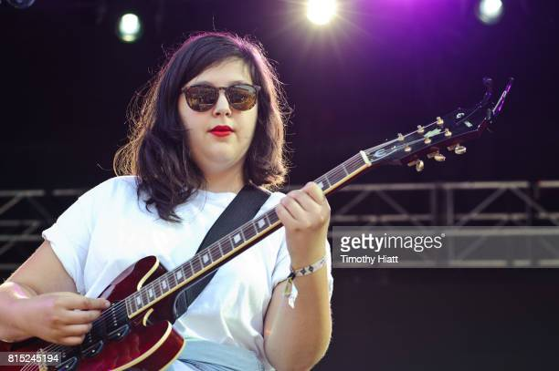 Lucy Dacus performs on day two of the 2017 Forecastle Festival on July 14, 2017 in Louisville, Kentucky.