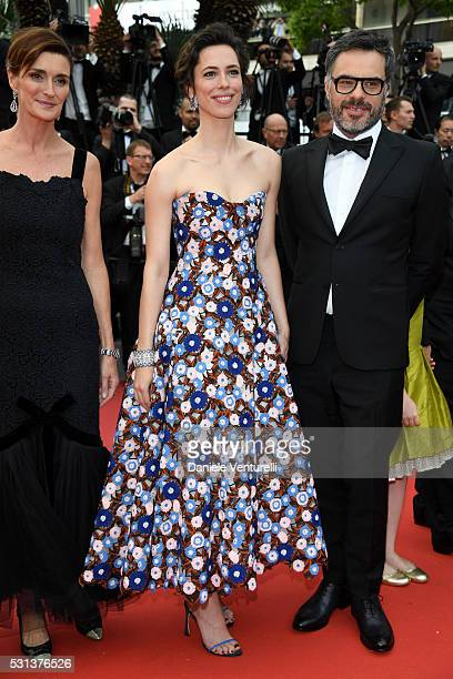 Lucy Dahl Rebecca Hall and Jemaine Clement attend 'The BFG ' premiere during the 69th annual Cannes Film Festival at the Palais des Festivals on May...