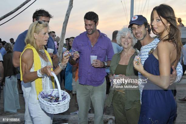 Lucy Danziger Andrew Lauren and attend Celebrating Dylan Lauren as new contributing editor to Self Magazine on July 17 2010 in Montauk NY